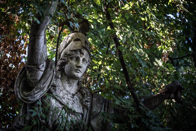 statue venice leica summicron 90mm 2.0 sony a7s