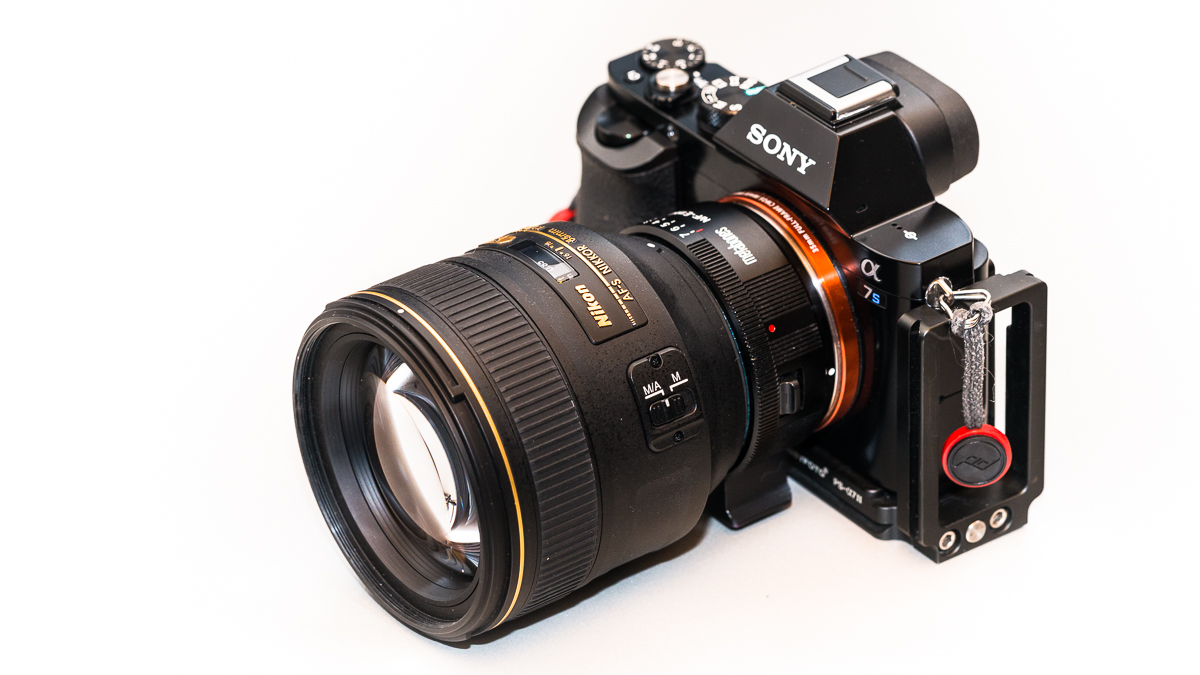 How To Adapt Nikon G Lenses Sony A7 Camreas Alpha 7 Mark Ii Fe 58 70mm