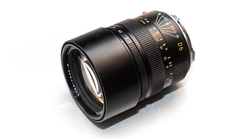 Leica Summicron-M 90mm 2.0 (pre Asph)