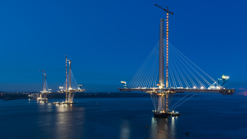 queensferry crossing bridge edinbrugh scotland stay cable zeiss loxia 35mm 2.0 sony a7s