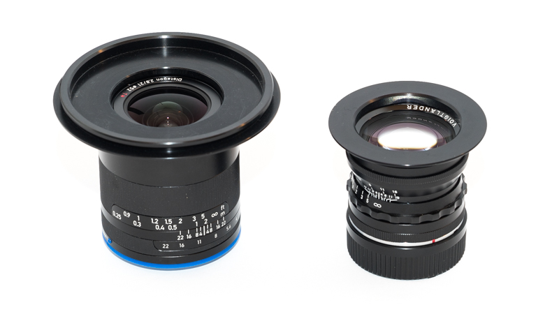 Zeiss Loxia 21mm 2.8 with Lee 100mm Adapterring and Voigtlander 50mm 1.5 with Hitech 67mm Adapterring