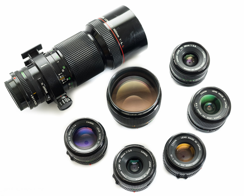 Canon FD lenses on digital cameras