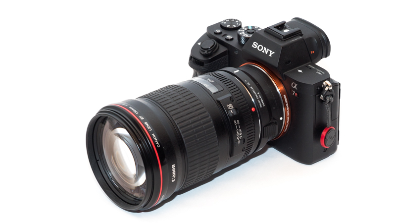 Sony A7rII with Sigma MC-11 and Canon EF 135mm 2.0 L USM
