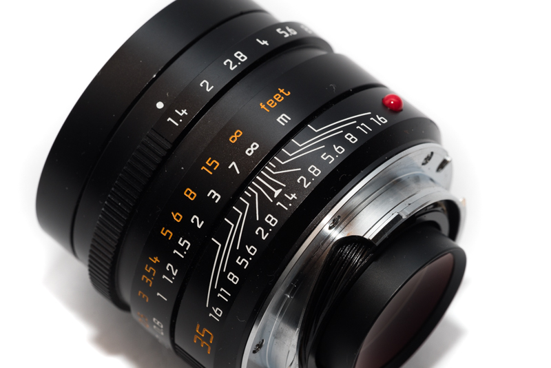 rangefinder leica m lenses focus field curvature thick sensor stack leica summilux summilux-m 35mm 1.4 asph fle 35 mm 1,4 1/1.4 sony a7 series a7rii a7rmk2 a7rm2