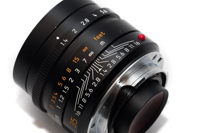 rangefinder leica m lenses focus field curvature thick sensor stack leica summilux summilux-m 35mm 1.4 asph fle 35 mm 1,4 1/1.4 sony a7 series a7rii a7rmk2 a7rm2