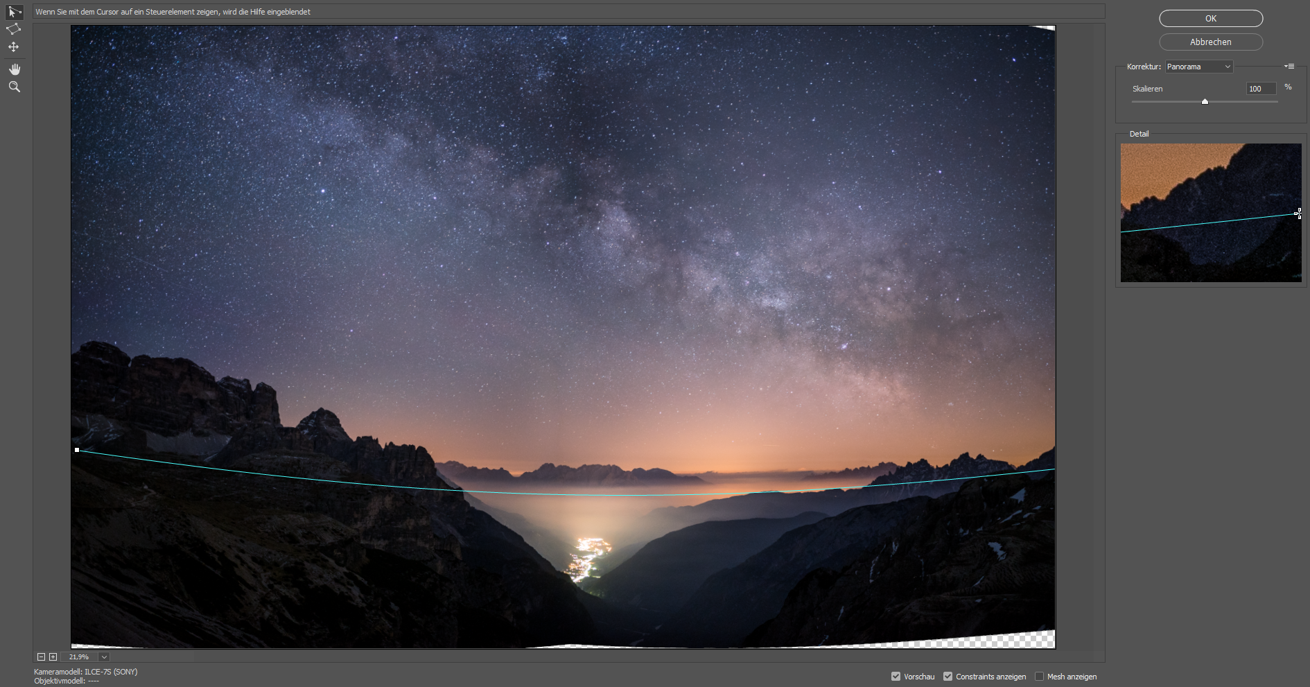 milky way astro astrophotography twan dark night stars milchstraße valley dolomites italy sony a7s voigtlander 35mm 1,7 asph ultron