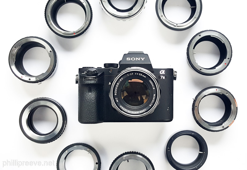 Guide to Adapters for Manual Lenses on the Sony a7 series ...