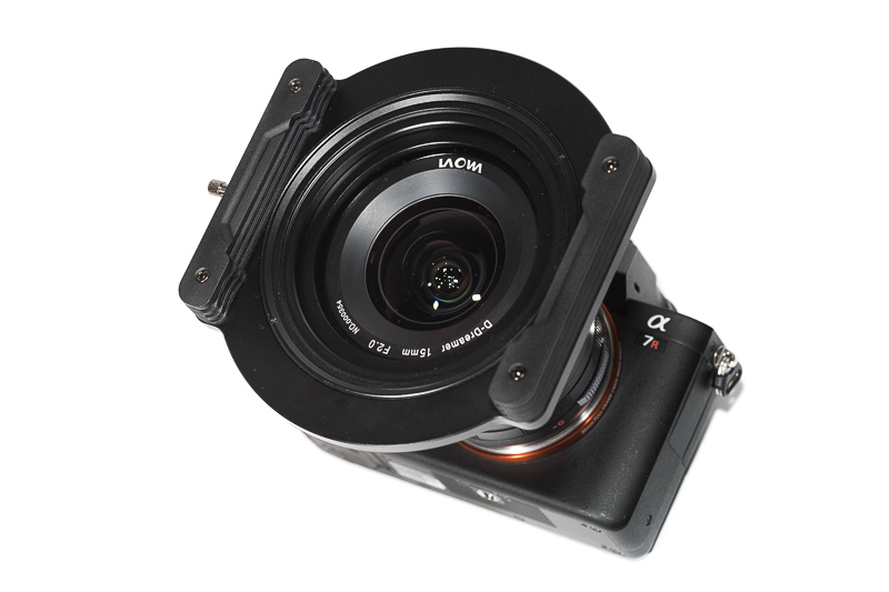 Laowa 15mm 2.0 Zero-D FE with NiSi Filters 100mm V5 holder