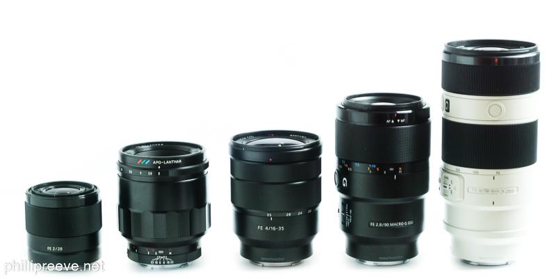 Sony FE lenses - phillipreeve.net