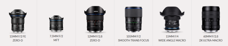 laowa lens line up