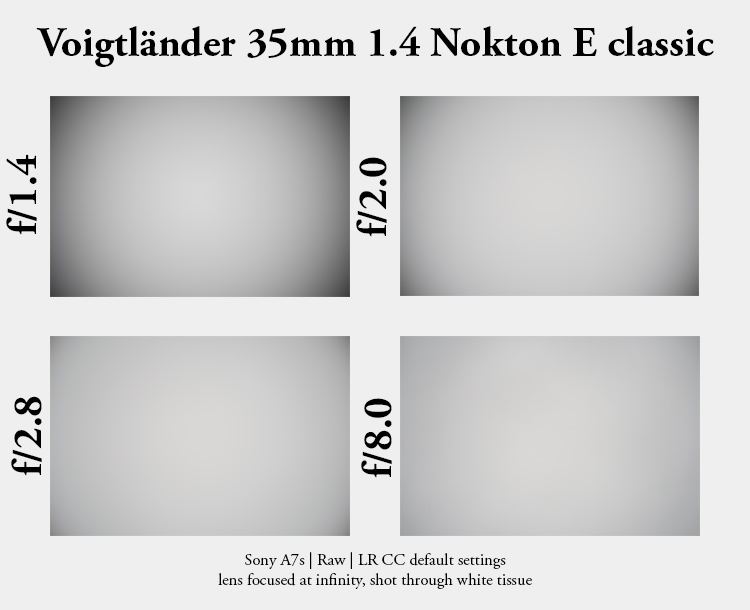 voigtlander 35mm 1.4 nokton e classic review sony e-mount emount sharpness bokeh rendering vignetting
