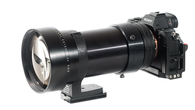 projection lens projector cinema carl zeiss jena czj row rathenower optische werke kino 168mm 1.9