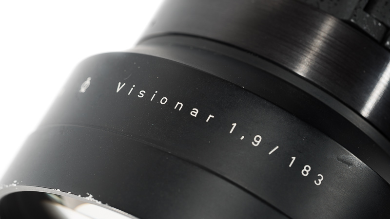 projection lens projector cinema carl zeiss jena czj row rathenower optische werke kino 183mm 1.9