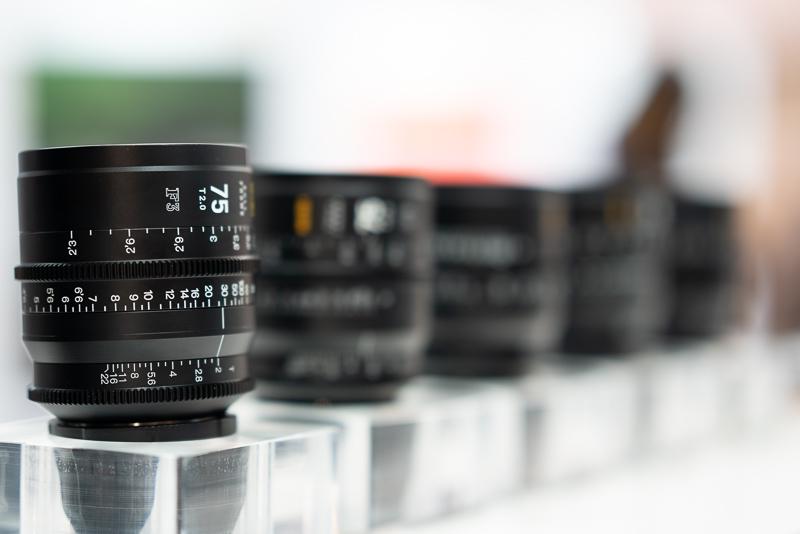 NiSi F3 Cine lenses pl ef cinema