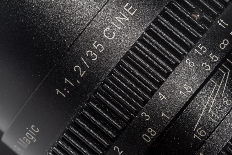 review slr magic cine fe 35mm 1.2 f/1.2 full frame e-mount a7rii a7riii 42mp