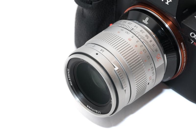 ttartisan 7artisans 35mm 1.4 asph sharpness mirrorless spiegellos review